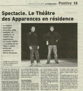 Article S&T Télégramme